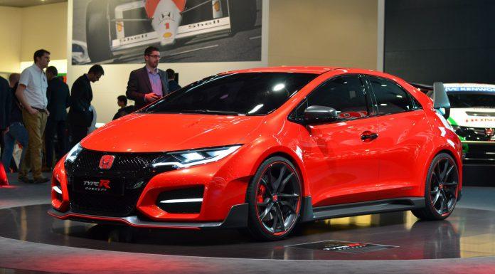Honda Civic Type R at Geneva Motor Show 2014