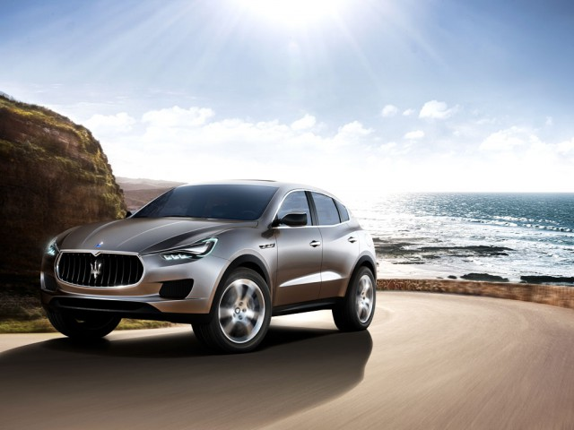 Production of Maserati Levante SUV to Start Next Year