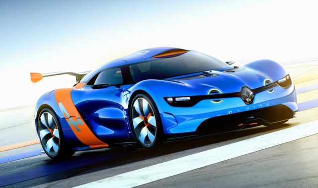 renault caterham sports car design