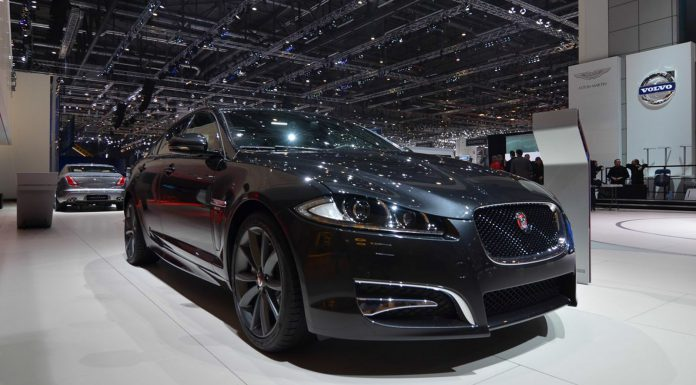 Jaguar XF R-Sport at the Geneva Motor Show 2014