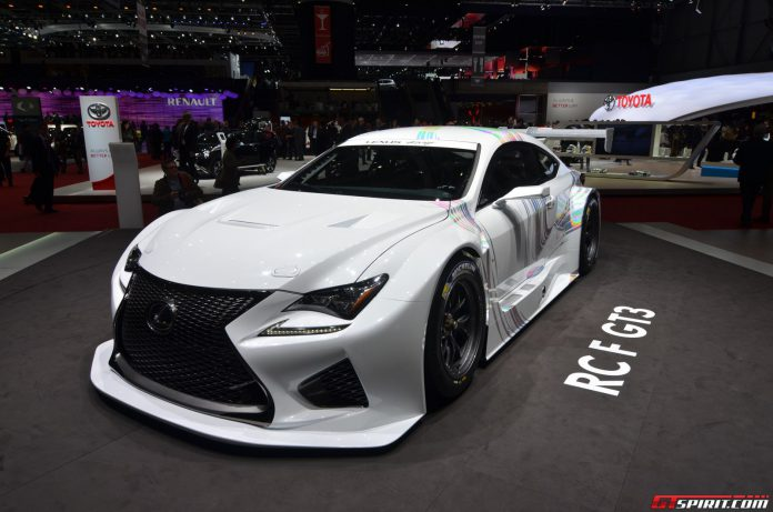 Lexus GT3 at Geneva Motor Show 2014