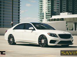 Brand new Mercedes-Benz S63 AMG Receives Savini Wheels
