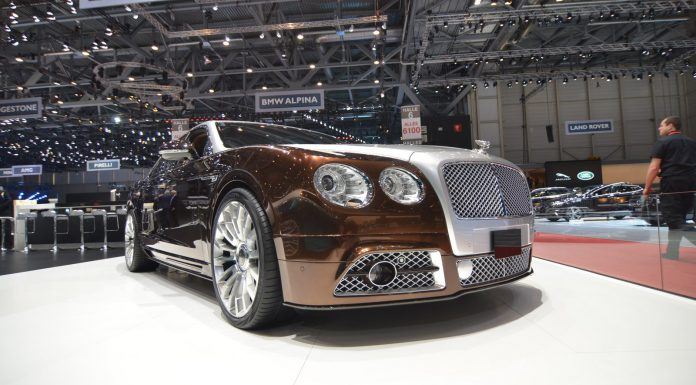 Mansory Bentley Flying Spur at Geneva Motor Show 2014
