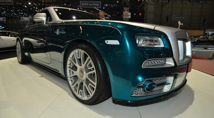 Mansory Rolls-Royce Wraith at the Geneva Motor Show 2014