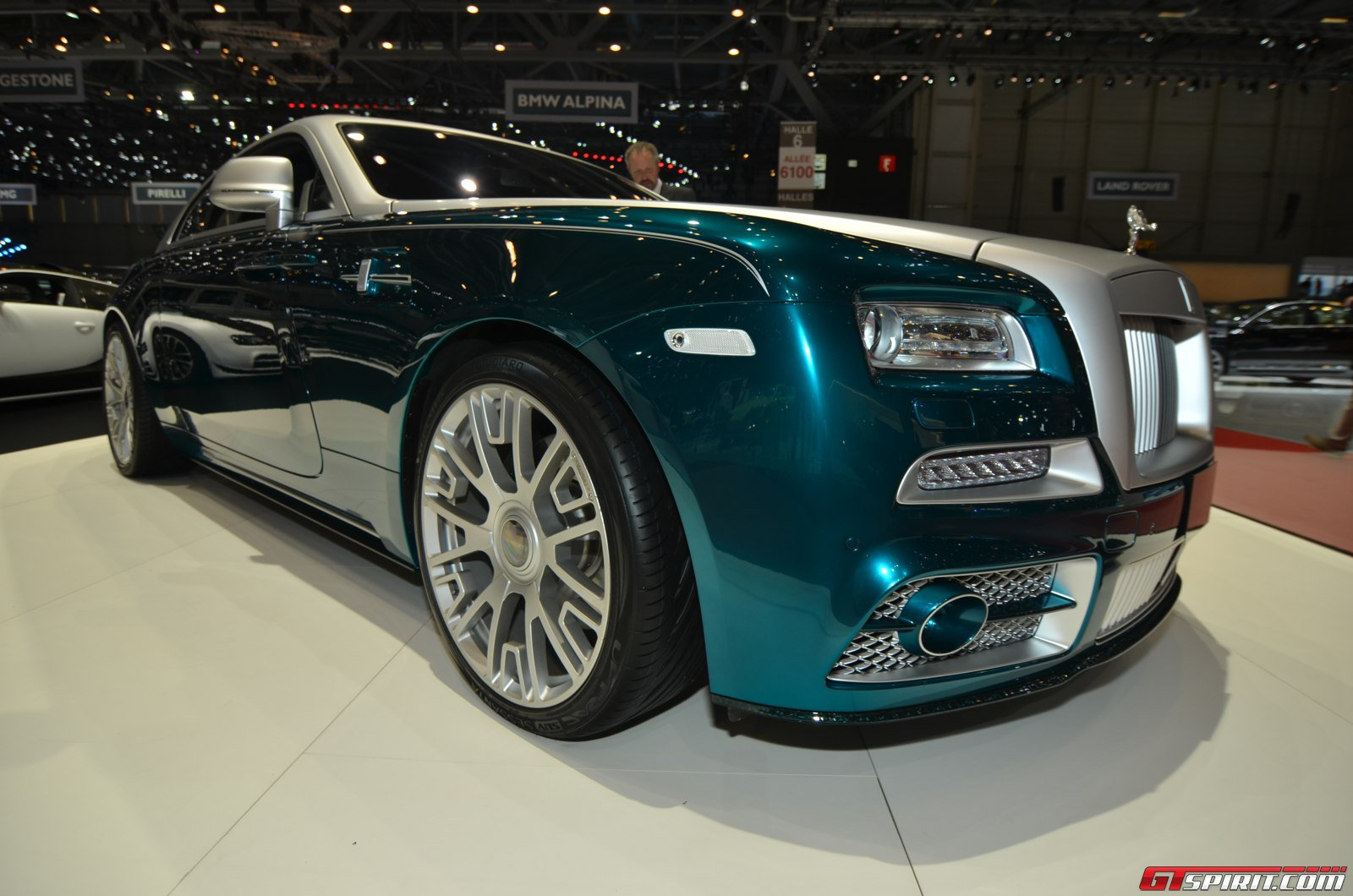 Mansory Rolls Royce Wraith at the Geneva Motor Show 2014