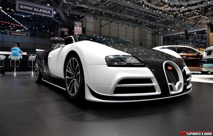 Mansory Veyron Vivere at Geneva Motor Show 2014
