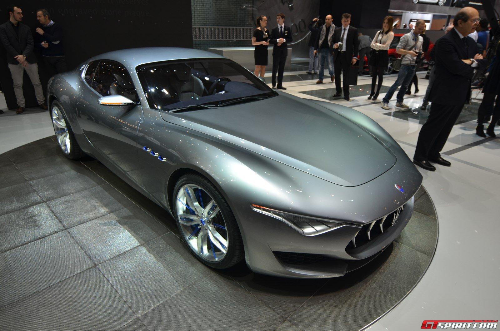 Geneva 2014: Maserati Alfieri Concept - GTspirit