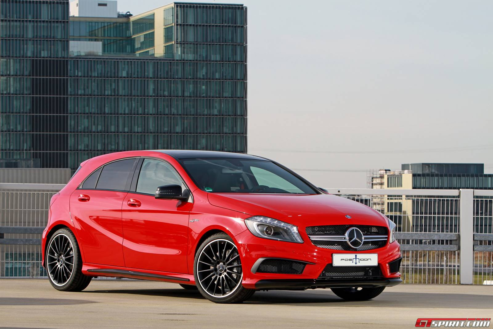 Official mercedes benz a 45 amg by posaidon gtspirit for Mercedes benz a45 amg