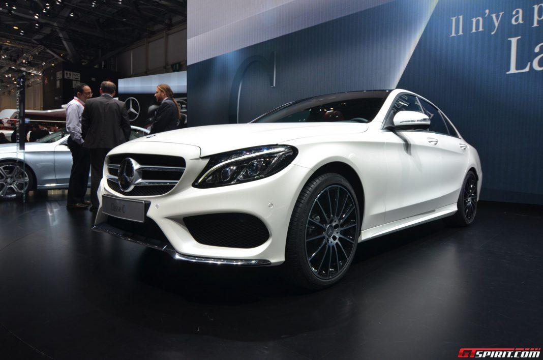 Mercedes-Benz C-Class at the Geneva Motor Show 2014