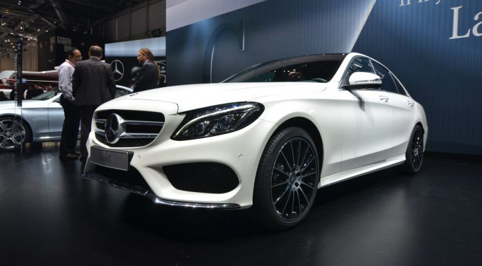 Mercedes-Benz C-Class at the Geneva Motor Show 2014
