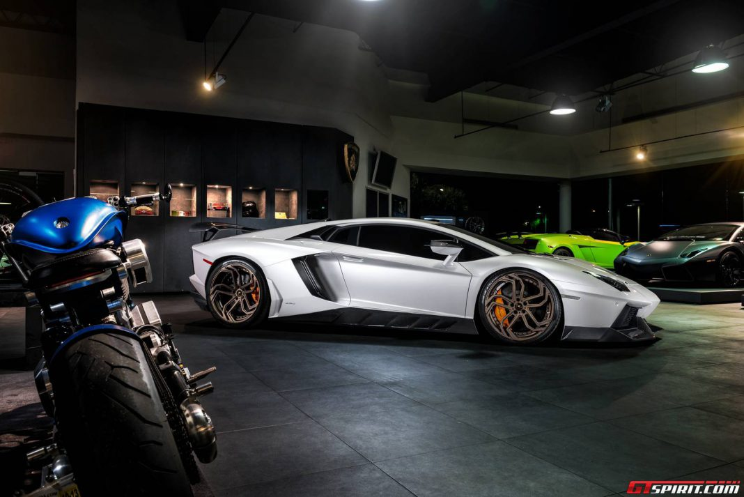 ADV.1 NL2 Wheels for Novitec Torado Aventador