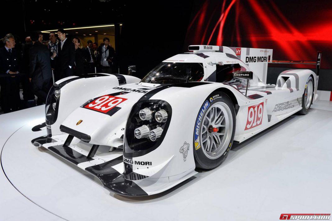Geneva 2014: Porsche 919 Hybrid
