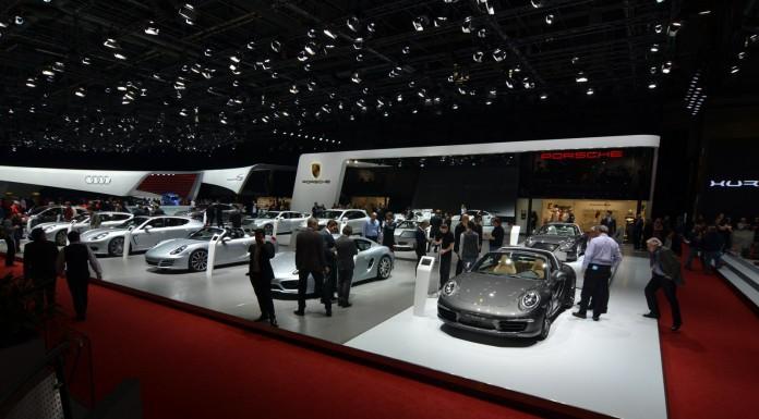 Porsche at the Geneva Motor Show 2014