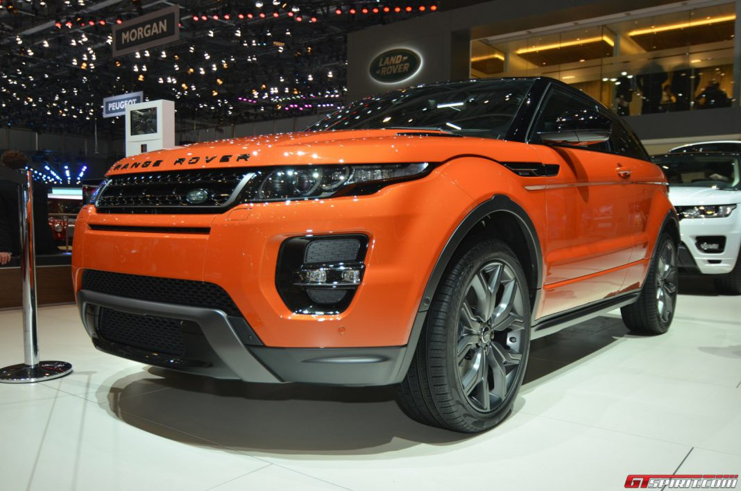 Range Rover Evoque Autobiography at the Geneva Motor Show 2014