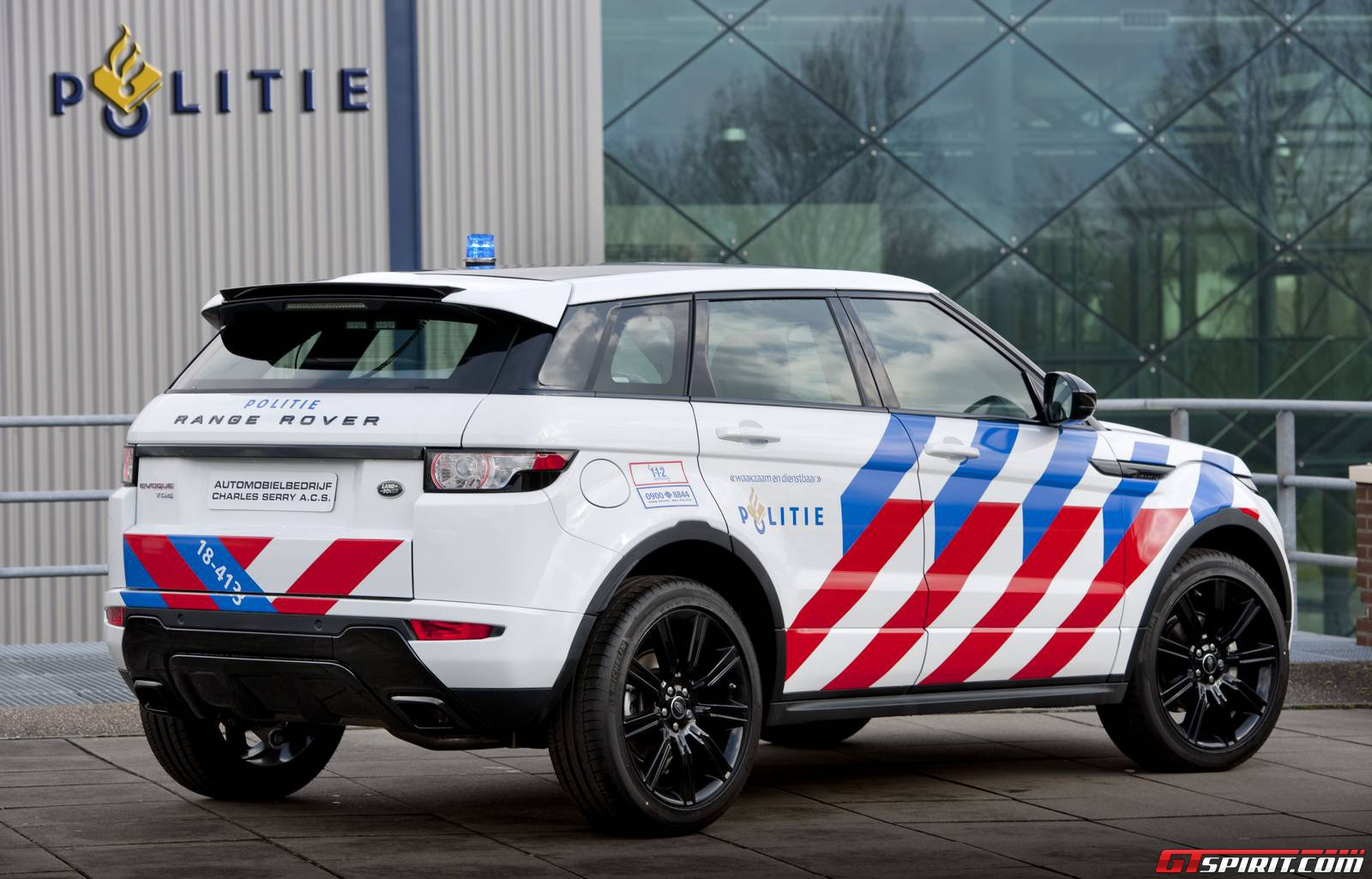 Official Range Rover Evoque Dynamic Business Edition In