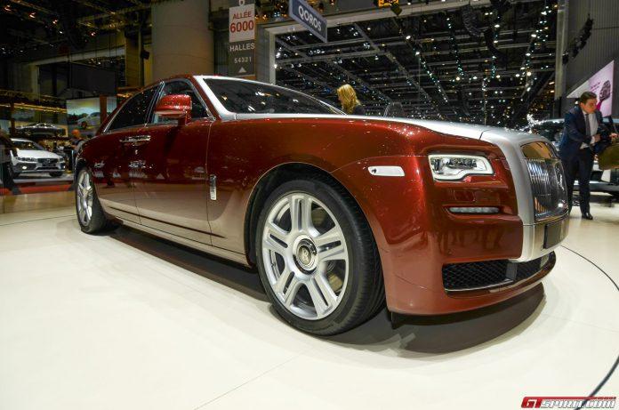 Rolls-Royce Ghost Series II at Geneva Motor Show 2014