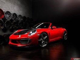 Red TopCar Porsche 991 Carrera Stinger