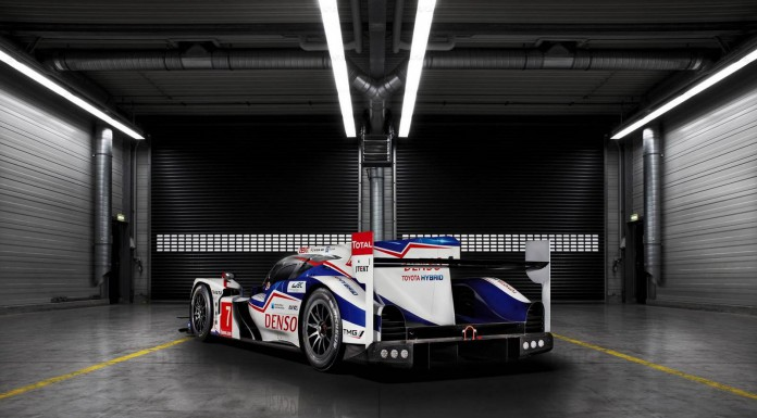 Official: 2014 Toyota TS040 Hybrid