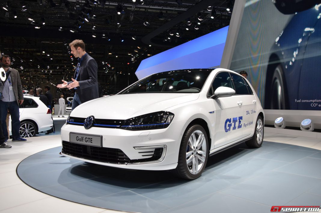Volkswagen Golf GTE at Geneva Motor Show 2014