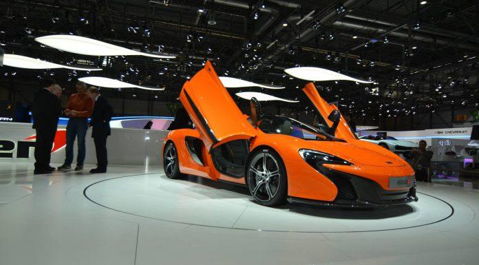 McLaren at Geneva Motor Show 2014