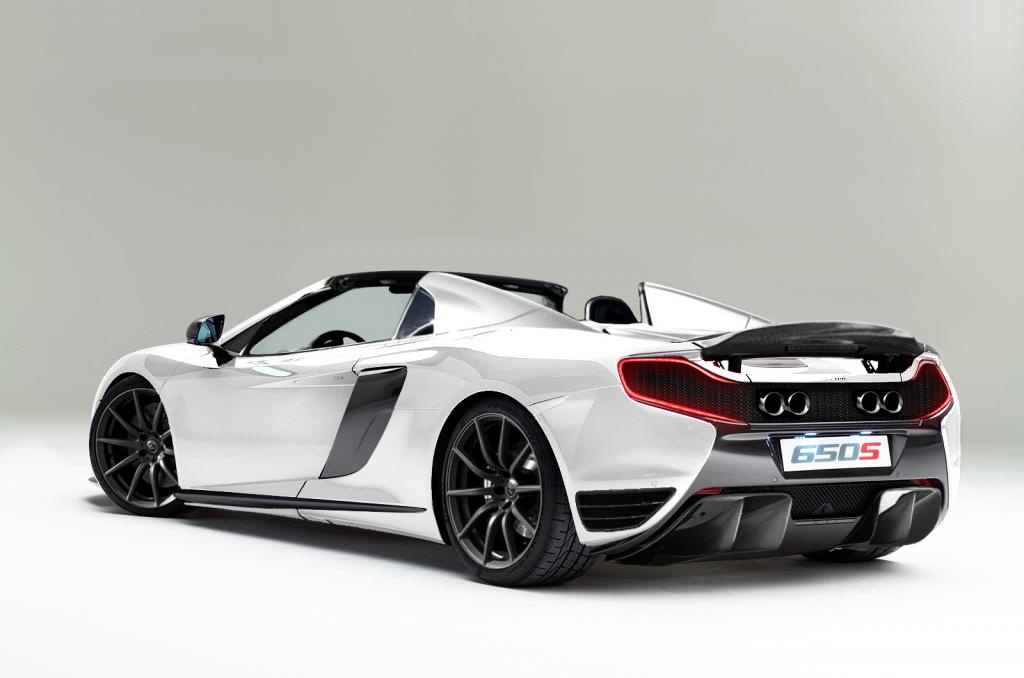 mclaren 650s rear end receives p1 treatment in epic. Black Bedroom Furniture Sets. Home Design Ideas