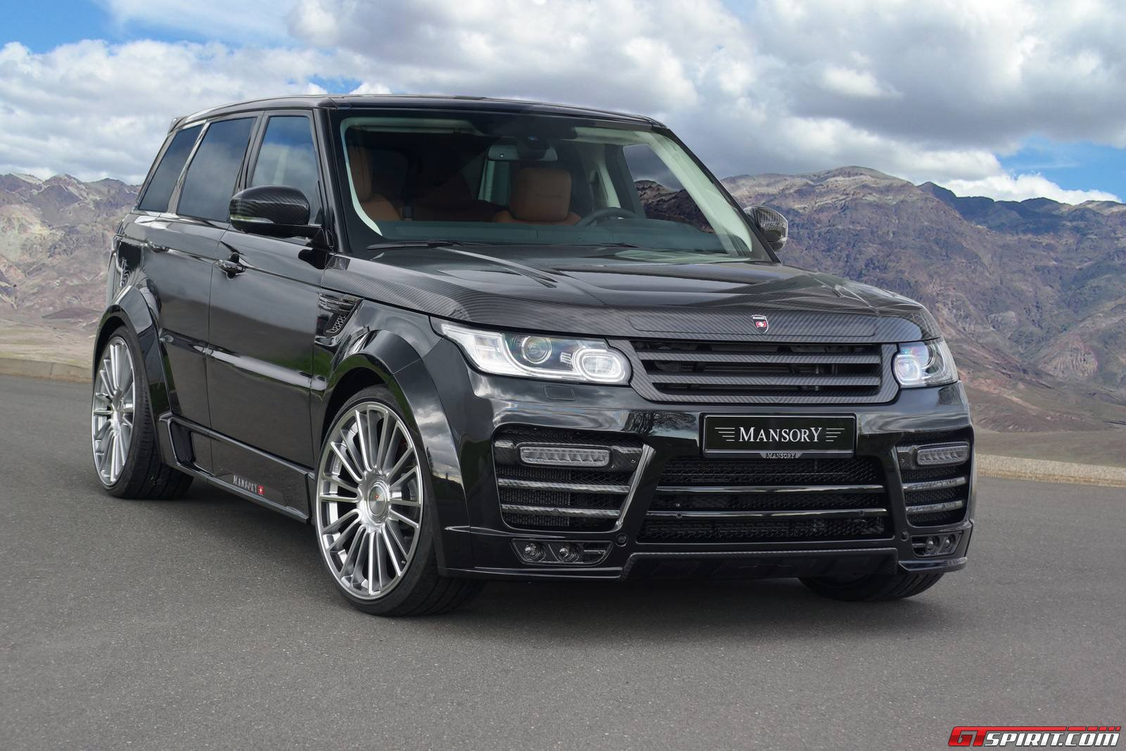 Car Body Kits >> Official: Mansory Range Rover Sport - GTspirit