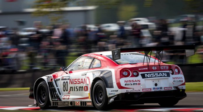 Nike Heidfeld Piloting 1 of 3 Nissan GT-Rs at Nurburgring 24 Hours