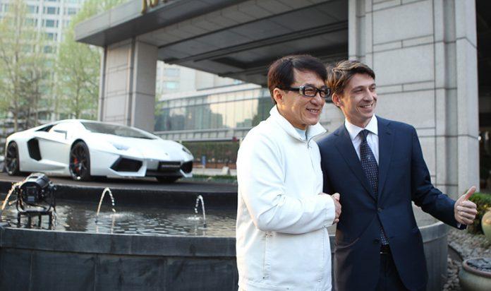 Lamborghini Aventador Jackie Chan Edition Revealed Prior to Beijing