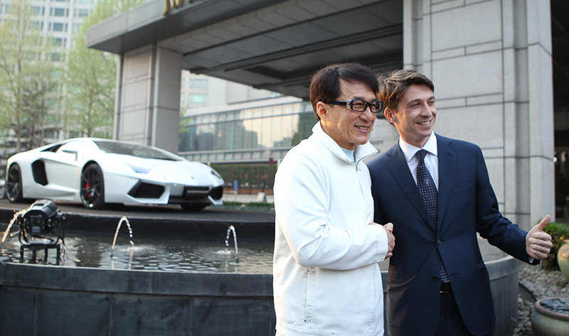 Lamborghini Aventador Jackie Chan Edition Revealed Prior to Beijing