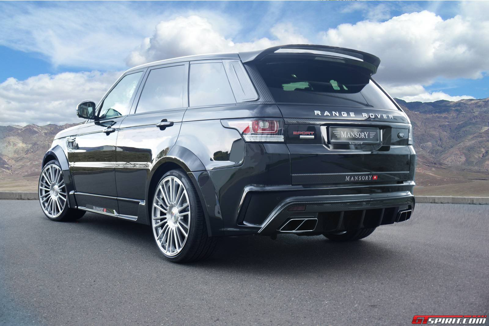 official mansory range rover sport gtspirit. Black Bedroom Furniture Sets. Home Design Ideas