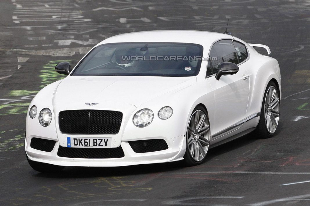 Possible Higher-Performance Bentley Continental GT V8 S Hits the Nurburgring