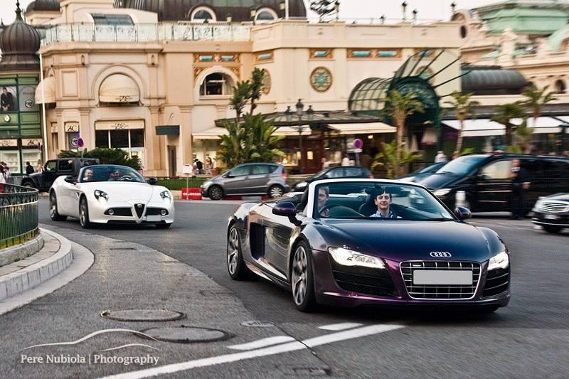 Video: Loud Quicksilver Exhaust Audi R8 V10 in Monaco Tunnels