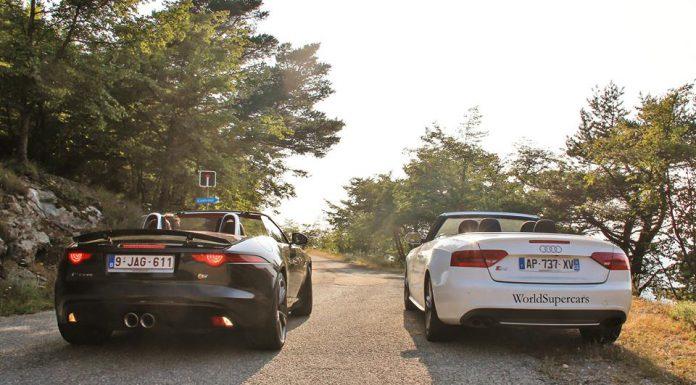 Video: Jaguar F-Type V6 S Glorious Sound on Monaco Mountain Roads