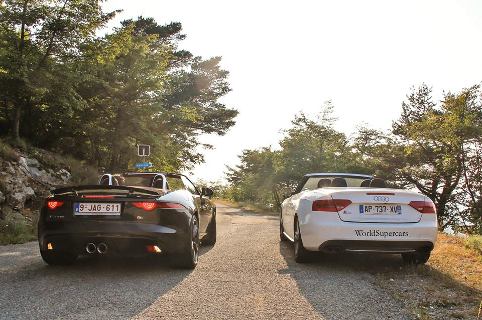 Video: Jaguar F Type V6 S Glorious Sound On Monaco Mountain Roads
