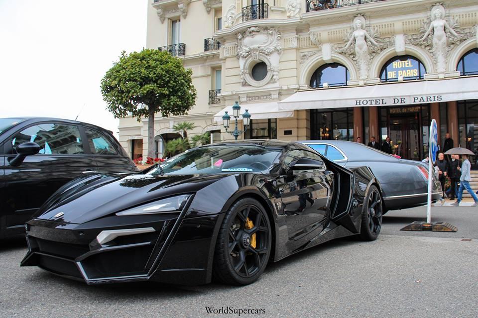 Video: Lykan HyperSports Start Up at Casino Square, Monaco