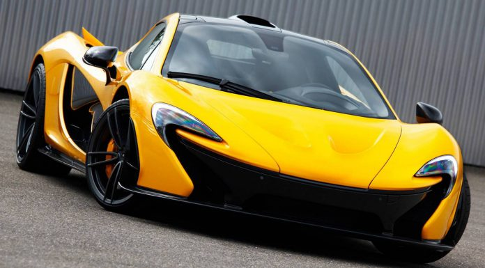 Yellow McLaren P1 with Gemballa GForged-One wheels