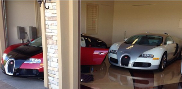 Two Are Better Than One: Floyd Mayweather's Bugatti Veyrons