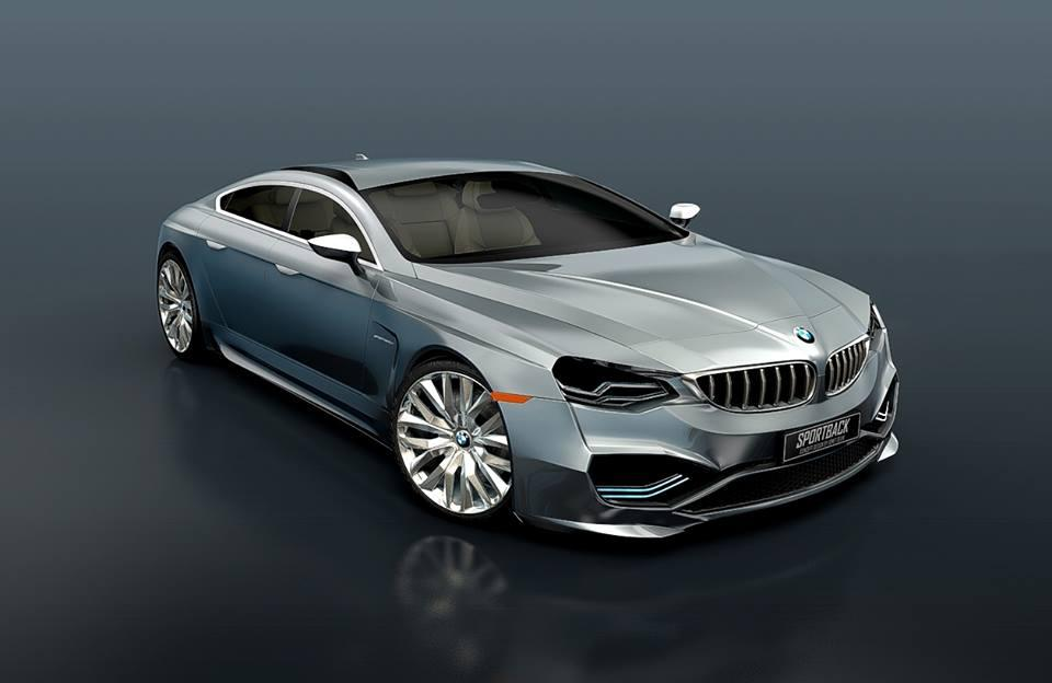 Awesome BMW Series Sportback Concept Imagined GTspirit - Awesome bmw