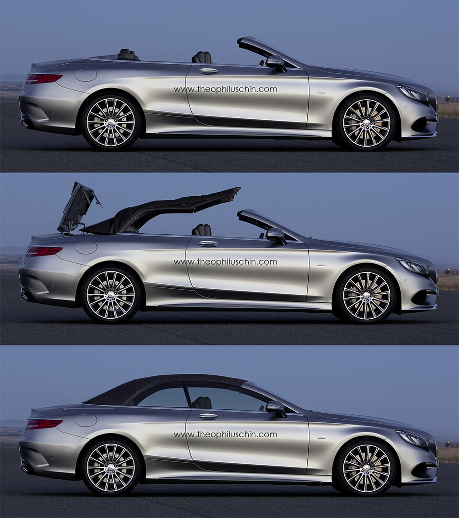 mercedes benz s class cabriolet accurately visualised gtspirit. Black Bedroom Furniture Sets. Home Design Ideas