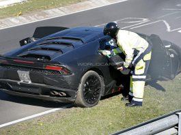 Lamborghini Huracan Prototype Runs out of Fuel on the 'Ring!