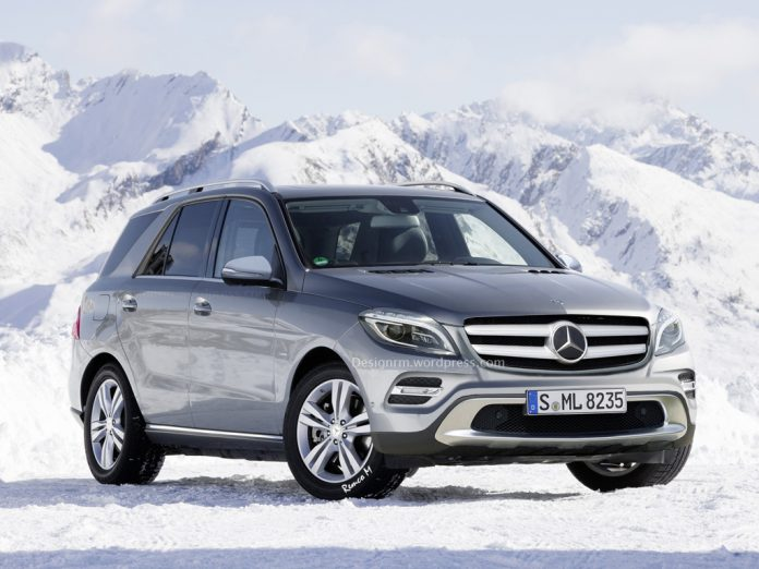 Facelifted 2015 Mercedes-Benz M-Class Rendered
