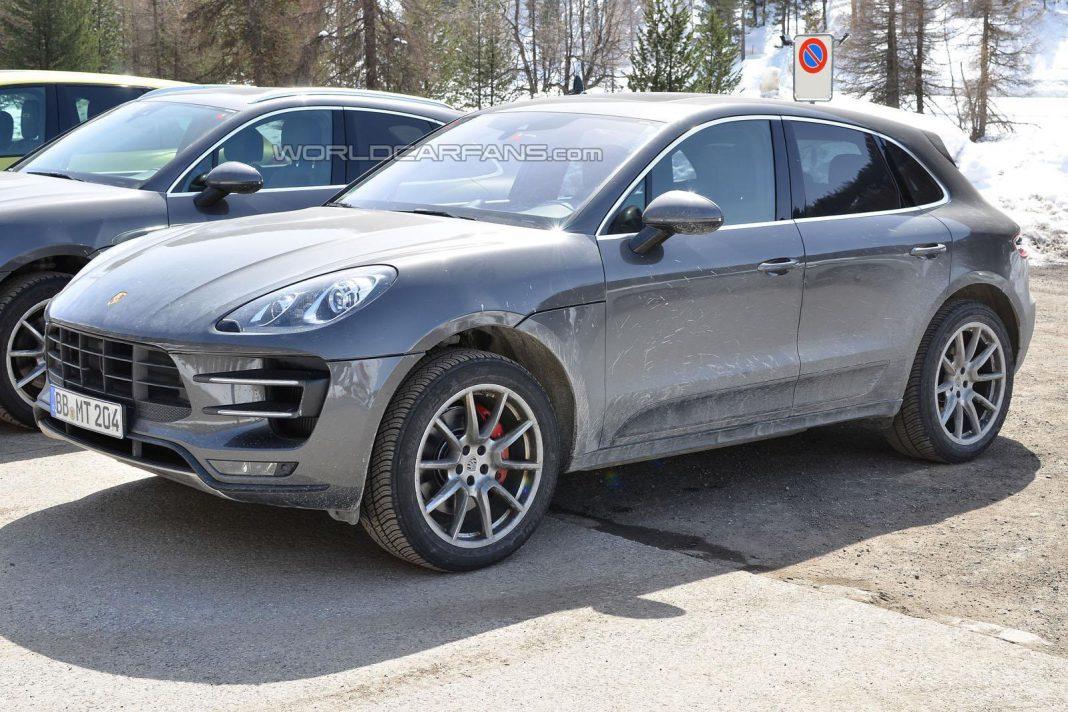 Porsche Macan GTS Spied Undisguised