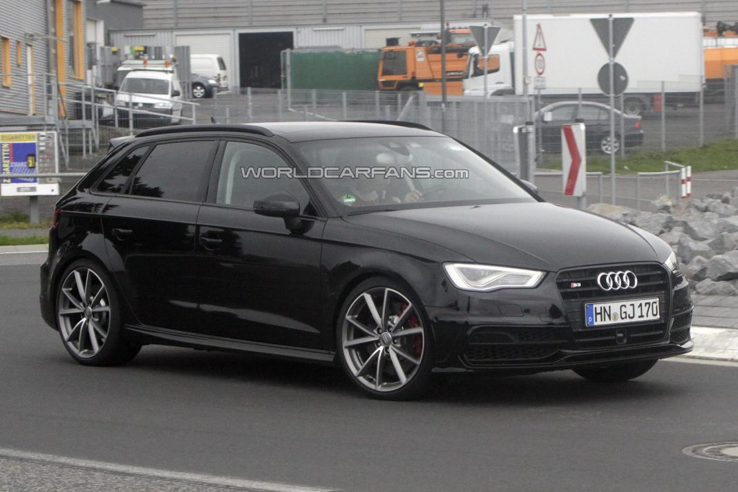 Audi RS3 Coming Next Year With 367hp