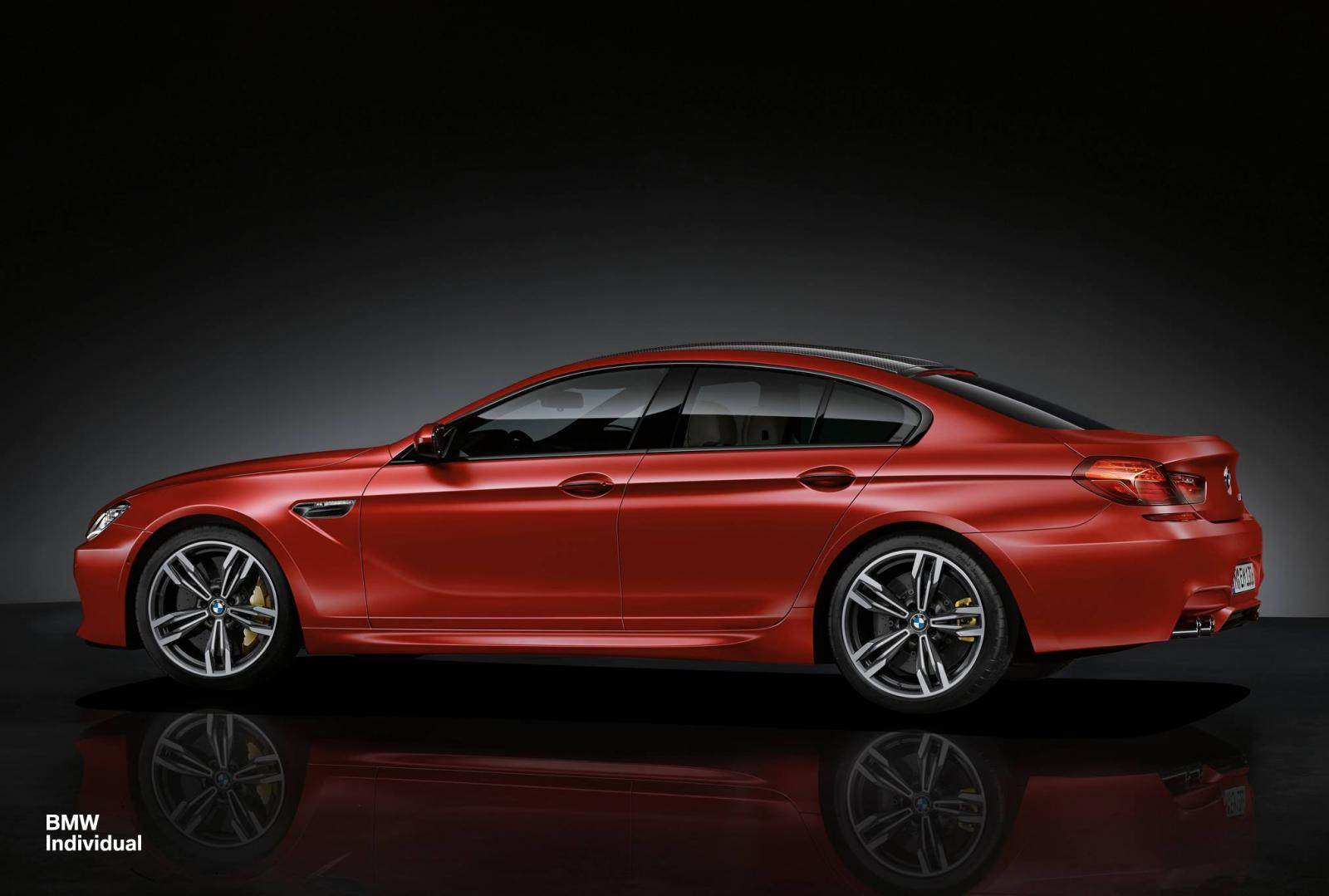 official bmw m6 gran coupe by bmw individual gtspirit. Black Bedroom Furniture Sets. Home Design Ideas