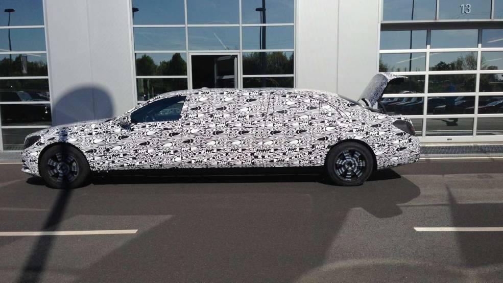 Brabus Could Build $1 Million Mercedes-Benz S-Class Pullman