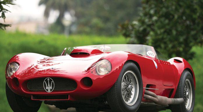 1956 Maserati 450S Prototype Could Fetch $7.5 Million in Monaco
