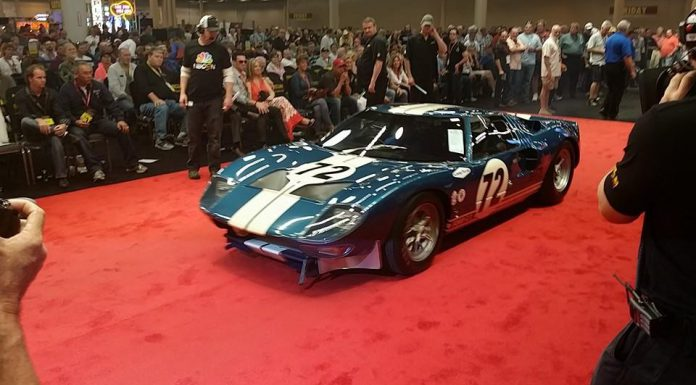 1964 Ford GT40 Prototype Sells for $7.1 Million at Mecum Auctions Houston