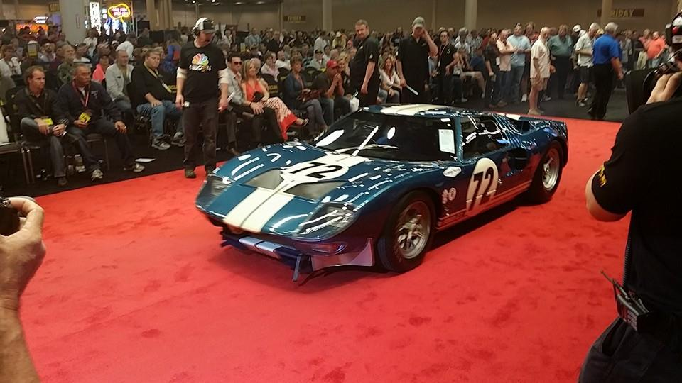 Ford Ford Auction >> 1964 Ford Gt40 Prototype Sells For 7 1 Million At Mecum