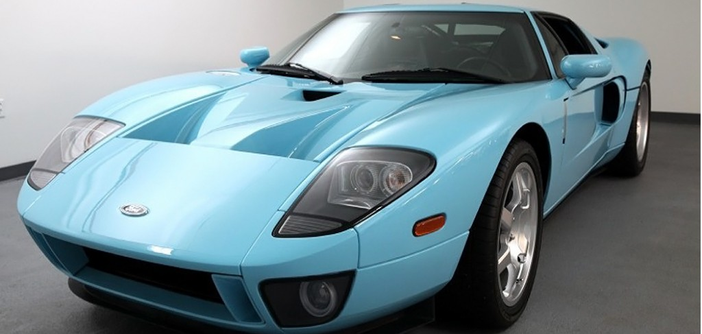 Unique  Ford Gt Prototype In Heritage Blue For Sale