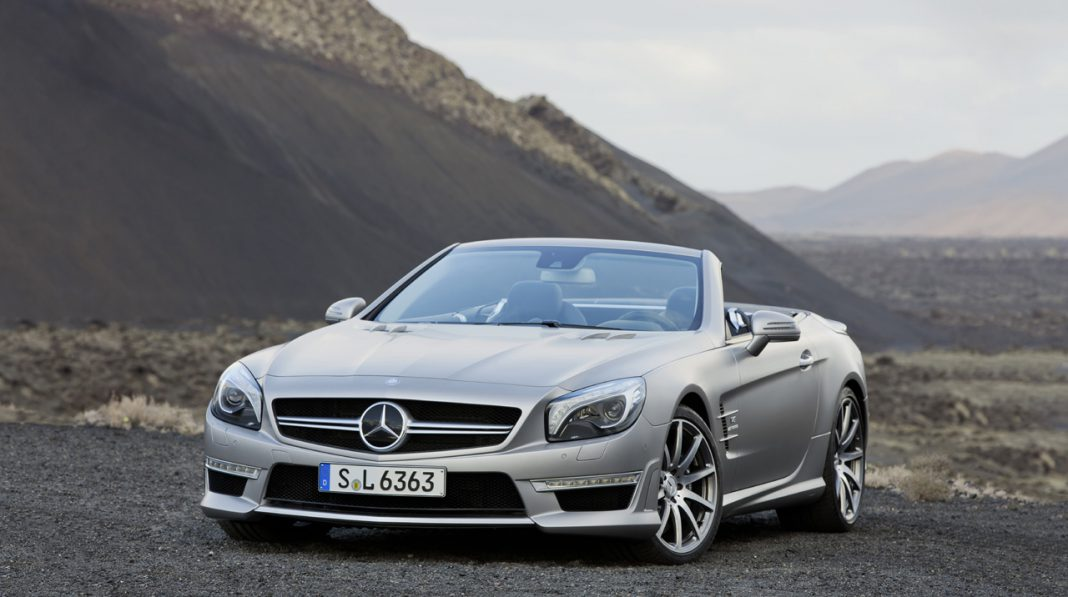 Mercedes-Benz SL 63 AMG Receiving Power Boost